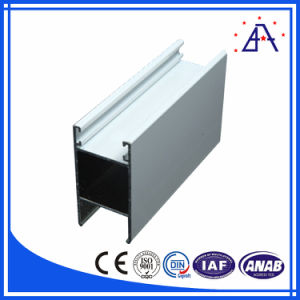 Cream Color Powder Coated Window Frame Aluminium Extrusion- (BY105) pictures & photos