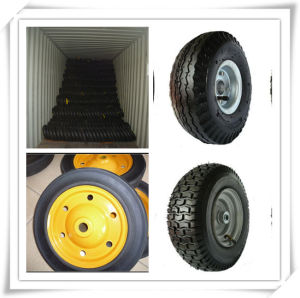 High Quality Rubber Wheel Hand Trolley Tyre pictures & photos