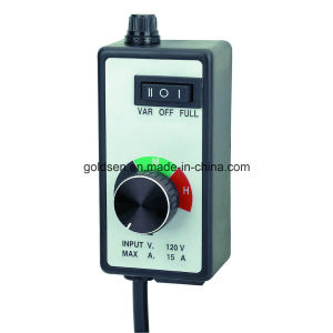 120V 15A 1500W Hydroponics Fan Speed Controller Router Speed Controller (GW8064)