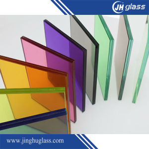 12.76mm Tempered Green Laminated Glass pictures & photos