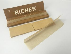 Unbleached Cigarette Rolling Paper with Filters SGS& Fsc Certificate pictures & photos