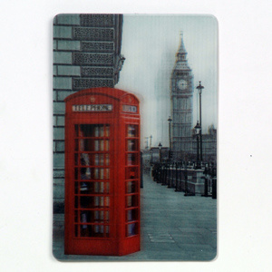 New Design Lenticular 3D Fridge Magnet pictures & photos