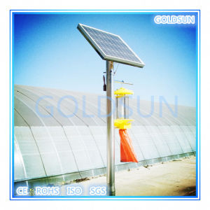 Solar Insect/Pest Killer Lamp for Green Plant/ Greenhouse Pest Killer/Control pictures & photos