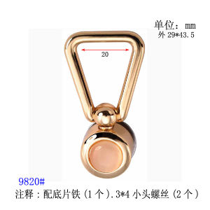 Fashion Metal Buckle of Bags 9820#