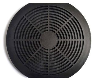 Plastic Fan Guard, Triple Dust Network, 172X150X10mm