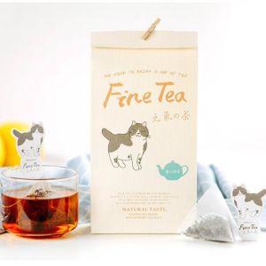 Yunnan Organic Cat Kitty Black Tea Bag pictures & photos