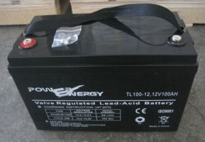 Tl12-100ah Sealed Lead Acid UPS Battery pictures & photos