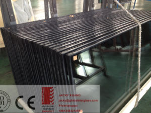 6+12A+6 Silk Print /Ceramic Frit Toughened Double Glazing/Insulated Glass pictures & photos