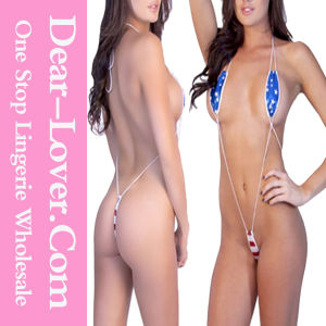 Stars and Stripes Teeny Weeny Monokini Teddy pictures & photos