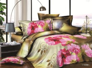 3D Bedding Set in Pure Cotton pictures & photos