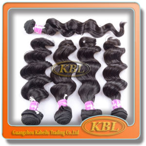 Black 7A Brazilian Remy Hair Weft pictures & photos