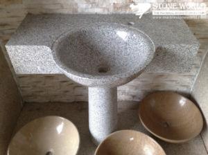 Polished Granite Vanity Top, Wash Basin for Bathroom (SV010) pictures & photos