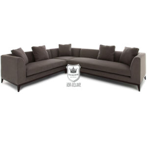 Contemporary Corner Sofa in Wearproof Fabric for Hotel pictures & photos