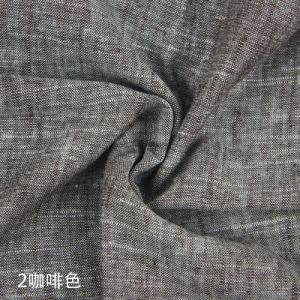 Linen Viscose Fabric Yarn Dyed with Slubs Fabric pictures & photos