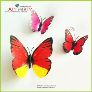 2016 Low Price Wholesale 3D Butterfly Wall Sticker pictures & photos