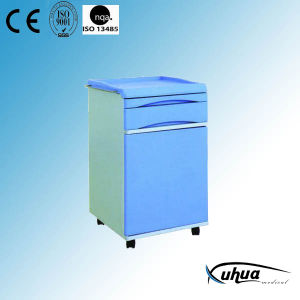 Hospital Medical ABS Bedstand with Casters (K-5) pictures & photos