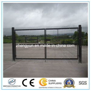Security Chain Link Fence Door pictures & photos