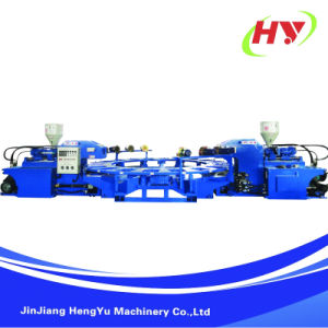 Rotary Type Sole Film Injection Molding Machine pictures & photos