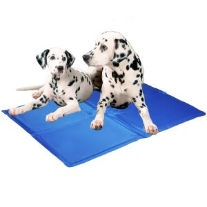 Dog Pet Cooling Mat, Heat Hot Weather Gel Pad Bed, Self Cooling Non-Toxic, Crate S M L XL pictures & photos