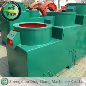 Organic Fertilizer Granule Polishing Machine / Circular Granules Organic Fertilizer Machine