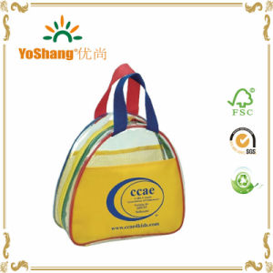 Logo Imprinted Kids Multicolor Clear Tote Bags pictures & photos