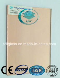 Reflective Glass Pink with Ce, ISO pictures & photos