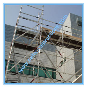 Safe SGS Approved Scaffolding System for Construction pictures & photos