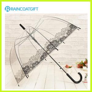 Straight Advertising Transparent PVC Umbrella pictures & photos