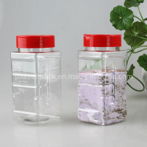 500ml Pet Plastic Spice Jar with Flip Cap (PPC-PSB-76) pictures & photos