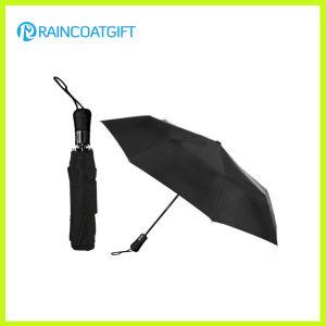 Black Color Two Fold Auto Open Umbrella pictures & photos