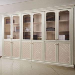 Oppein White PVC Euro Style Book Cabinet (SG21135A335) pictures & photos