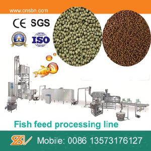 140-600kg/H Wide Output Floating Fish Feed Making Machine pictures & photos