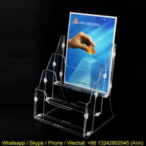 2017 Custom Acrylic File Display Bookshelf for Book pictures & photos