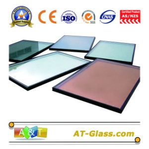 Insulated Glass with Tinted Float Glass/Reflectiveglass/Tempered Glass Used for Building pictures & photos