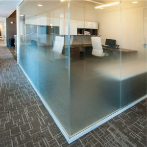 Gradient Acid Etched Ultra Clear Glass Frost Glass for Partition pictures & photos