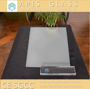 Semi-Transparent Silk Screen Printed Glass Instead of Frosted Glass pictures & photos