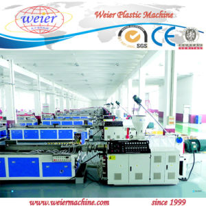 Hot Sale Plastic Window and Door PVC Profile Production Line pictures & photos