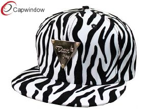 Zebra Design Fitted Baseball Hats Strapback Cap (04007) pictures & photos
