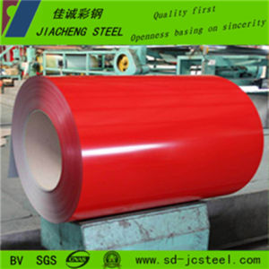 Furniture Industry Red Prepainted Galvanized Steel Coil (thickness 0.12-1.5mm)