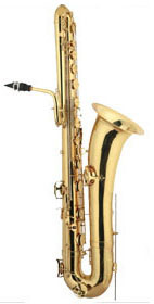 Gold Lacquer Low a Bass Saxophone