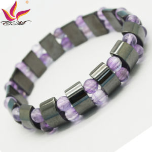 Htb-111black Magnetic with Rose Quartz Bracelet pictures & photos