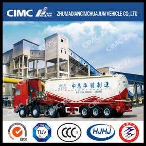 Hot Sale 28-35cbm Cement Tanker with Air Compressor pictures & photos