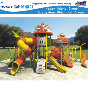 Kindergarten Outdoor Slide Playground for Kids Play HD-Zba301 pictures & photos