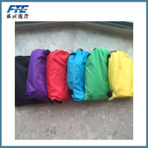 Wholesale Polyester Inflatable Lazy Sleeping Air Bags pictures & photos