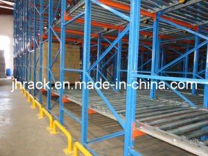 Gravity Flow Racking for Large Load Capacity Storage