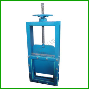 Slide Damper Gate Valve-Manual Slide Gate Valve pictures & photos