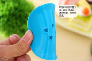 Square Shaped Colorful Silicone Cup Mats for Table Decoration pictures & photos