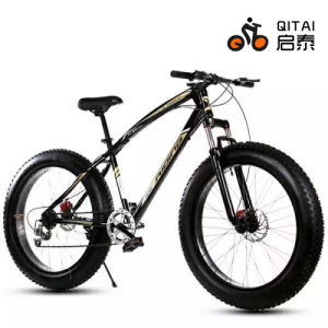 "26"" Fat Tire Tyre Mountain Bicycle with 4.0 Tire with Gear 21 Speed pictures & photos"