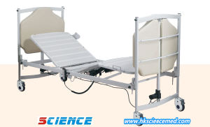 European Design Luxurious Folding Electric Hospital Bed with Five Functions pictures & photos