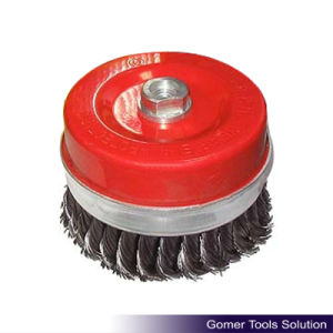 Knotted Twisted Steel Wire Cup Brush (LT06264)